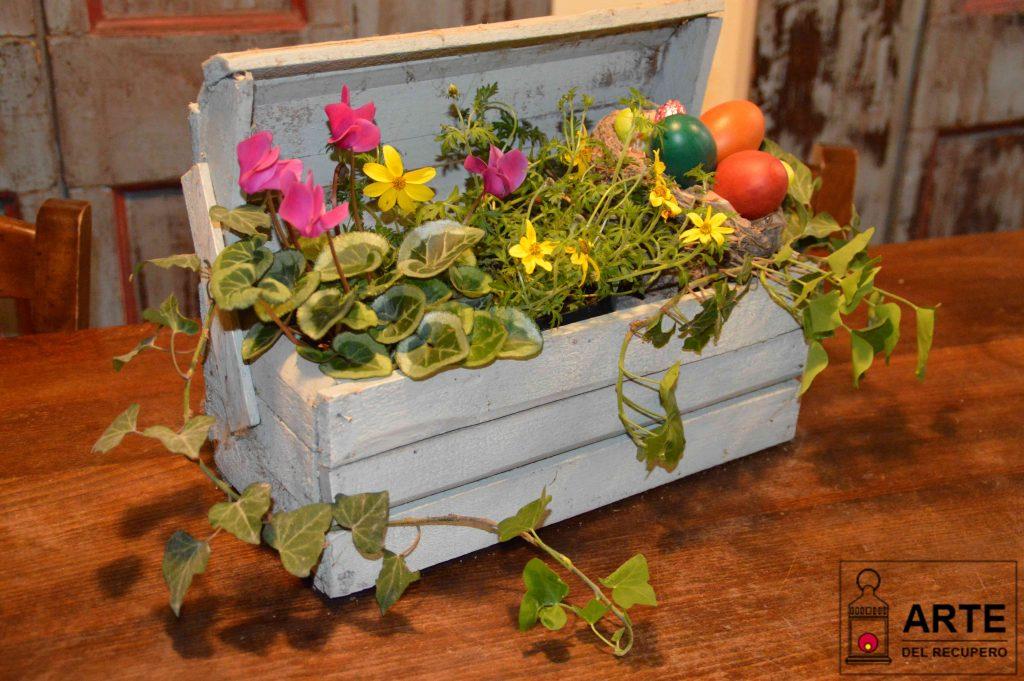 Centrotavola di Pasqua, per una tavola colorata!!!