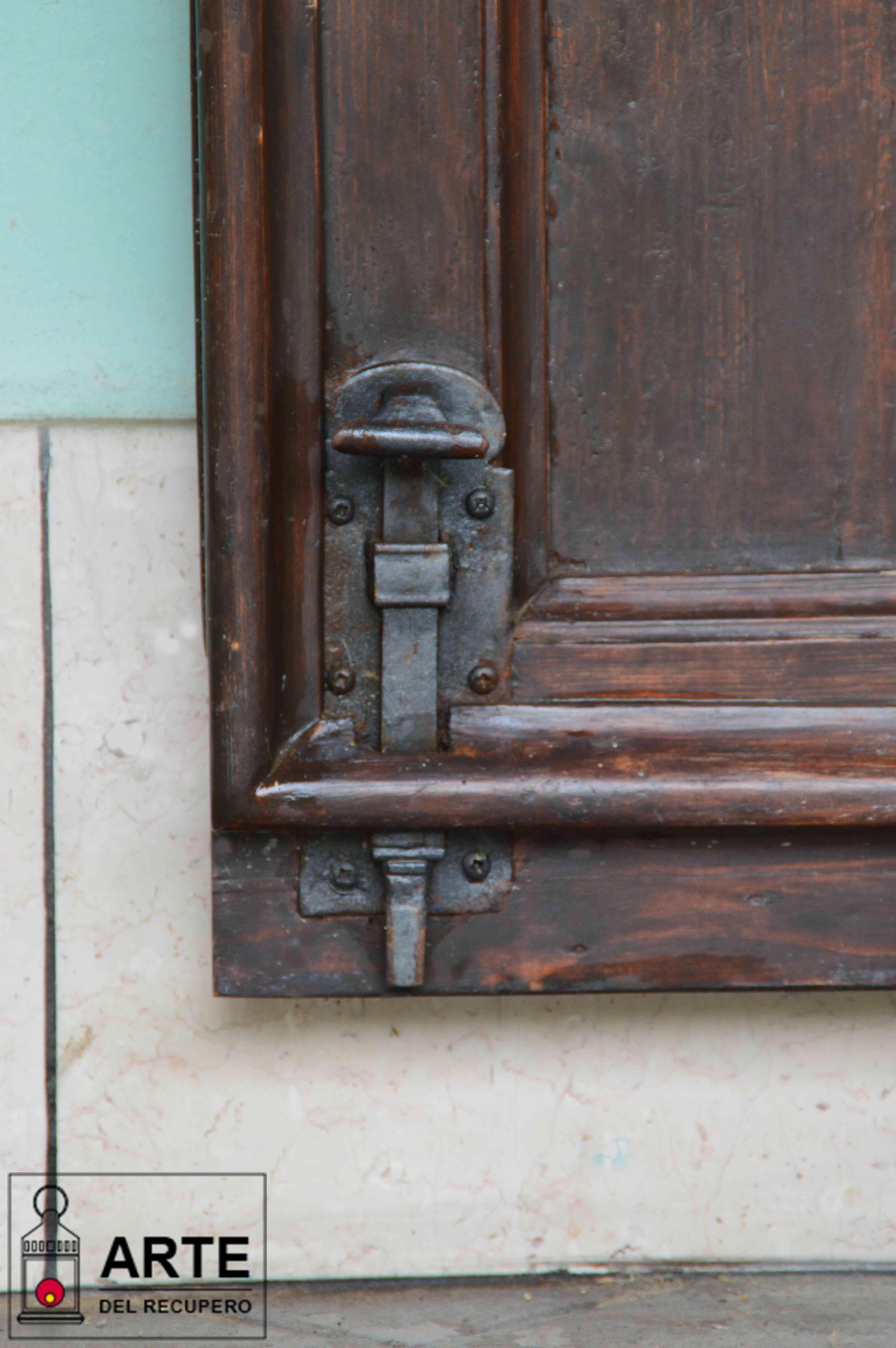 Foto Di Porte Antiche la porta di casa mia, un recupero ben riuscito! - l'arte del