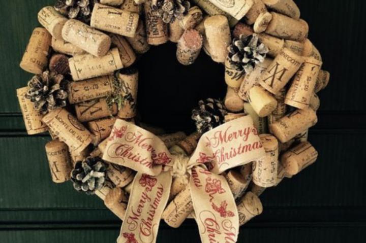 Immagini Di Ghirlande Di Natale.Ghirlanda Di Natale 2 L Arte Del Recupero