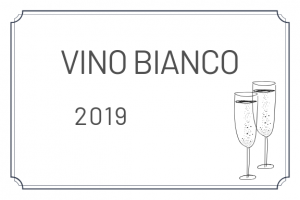 etichetta vino bianco