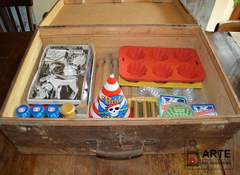 valigia porta oggetti