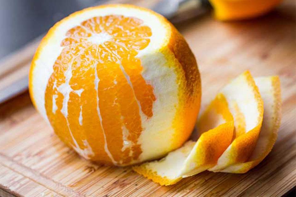 scrub buccia arancia