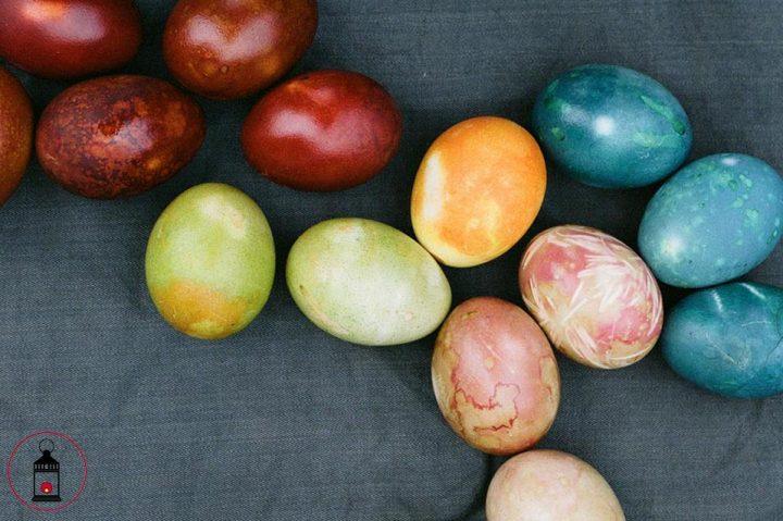 Uova di Pasqua tinte naturalmente 8