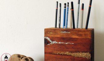 portamatite in legno