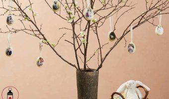 albero genealogico delle uova di Pasqua