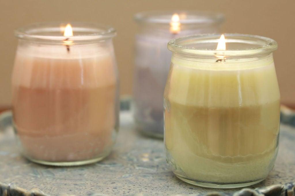 candele fai da te 13