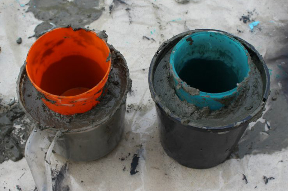vasi di cemento