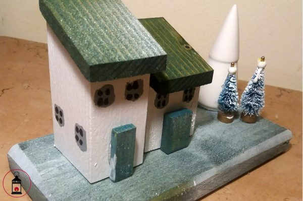 casette di Natale in legno