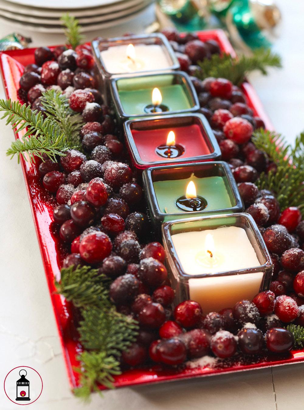 candele di mirtillo rosso 1