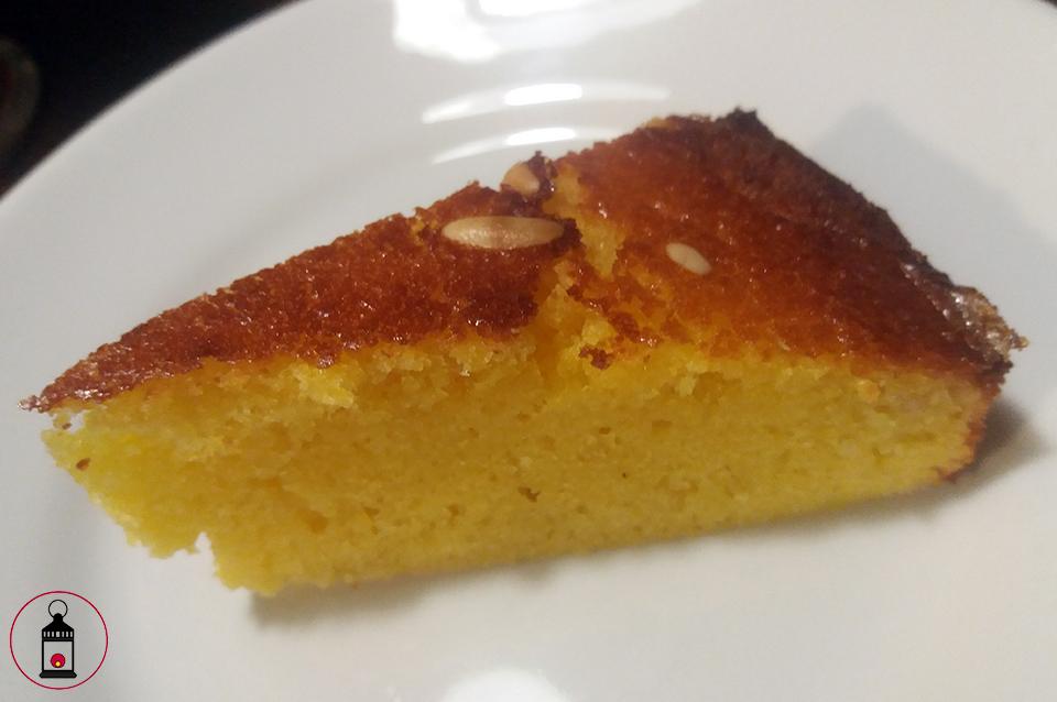 fetta torta pinoli