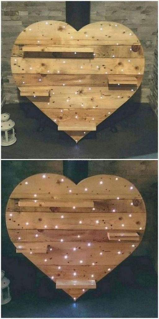 cuori in legno