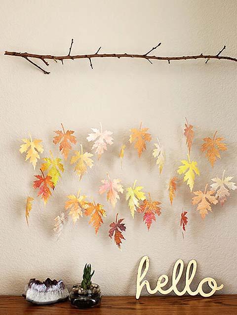 idee creative per utilizzare le foglie 2